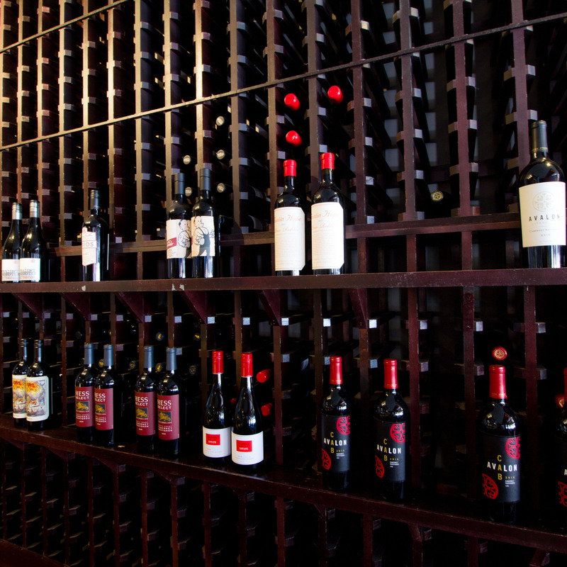 1/2 off wine bottles every Wednesday