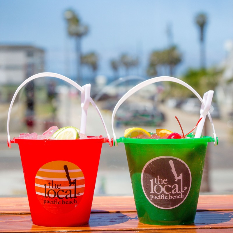 Sand pail margarita and sand pail punch