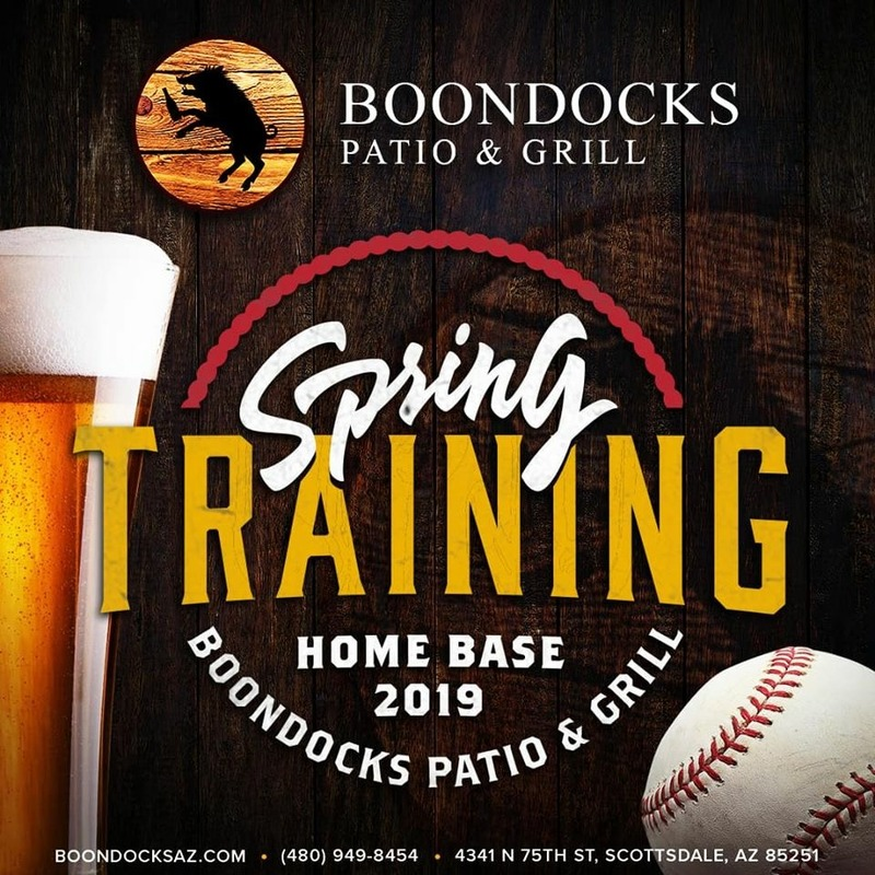 Boondocks is your Home for Spring Training 2019