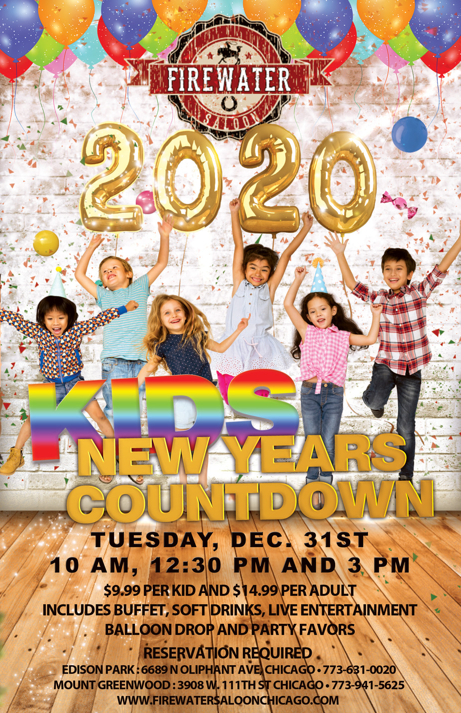 Kids New Year's Eve Party event photo
