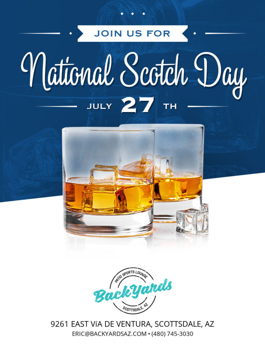 National Scotch Day Monday July 27th event photo
