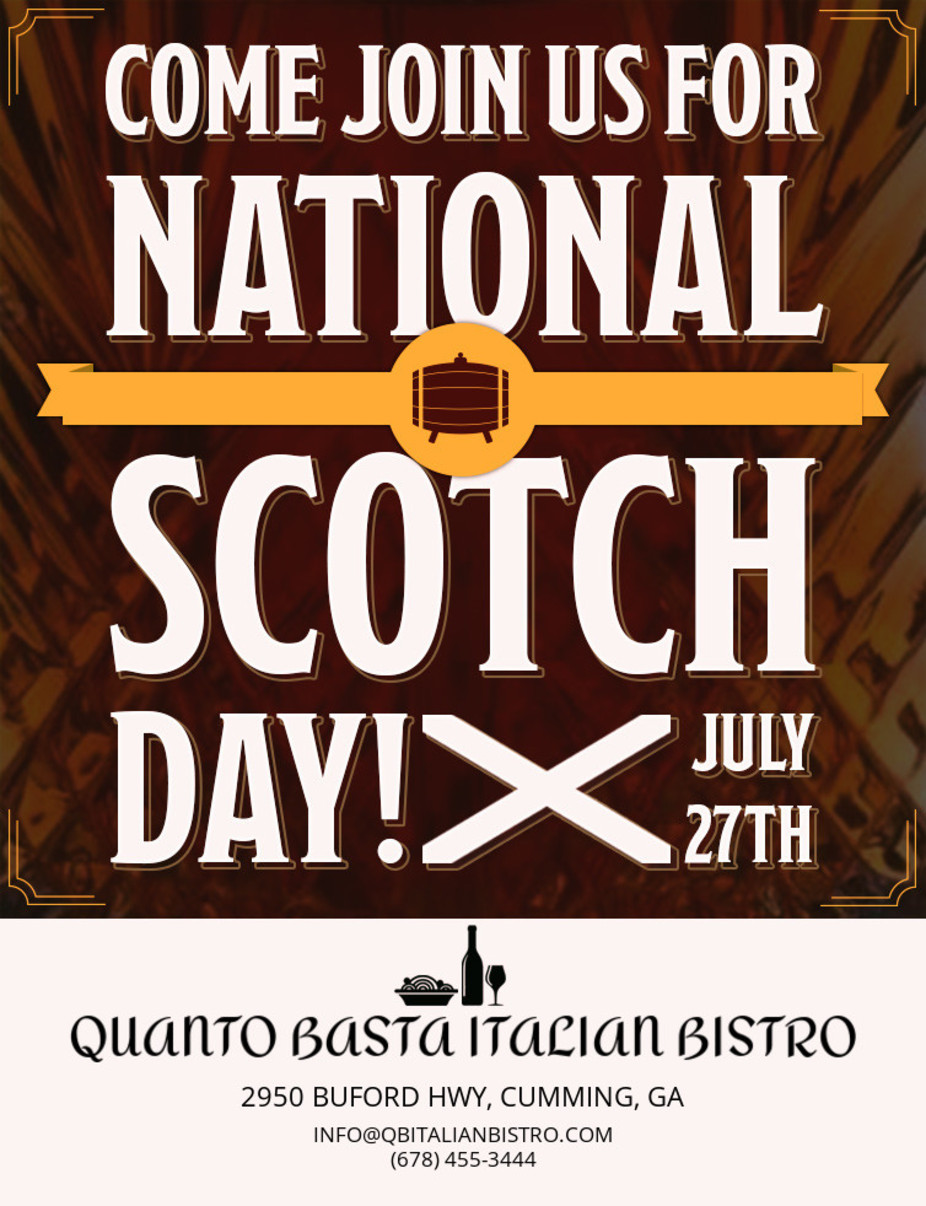 National Scotch Day event photo
