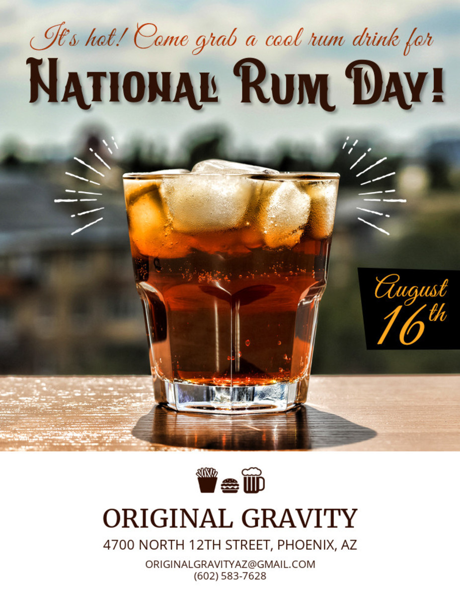 National Rum Day event photo