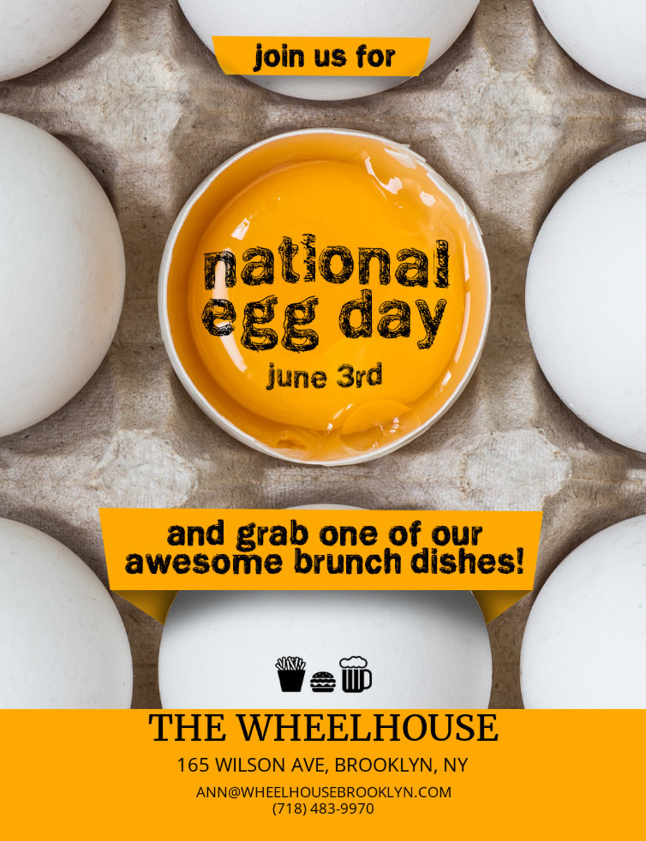 National Egg Day event photo
