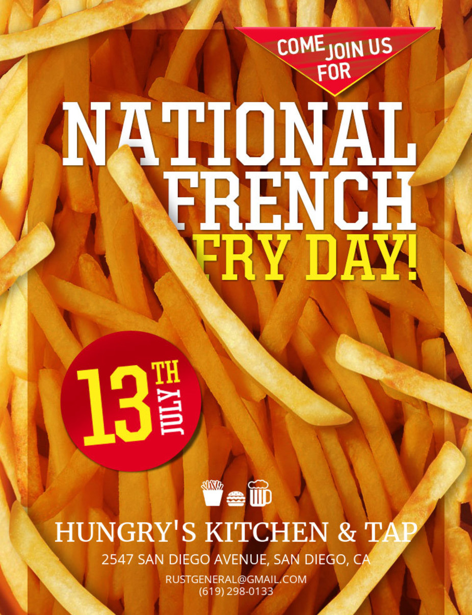 National French Fry Day event photo