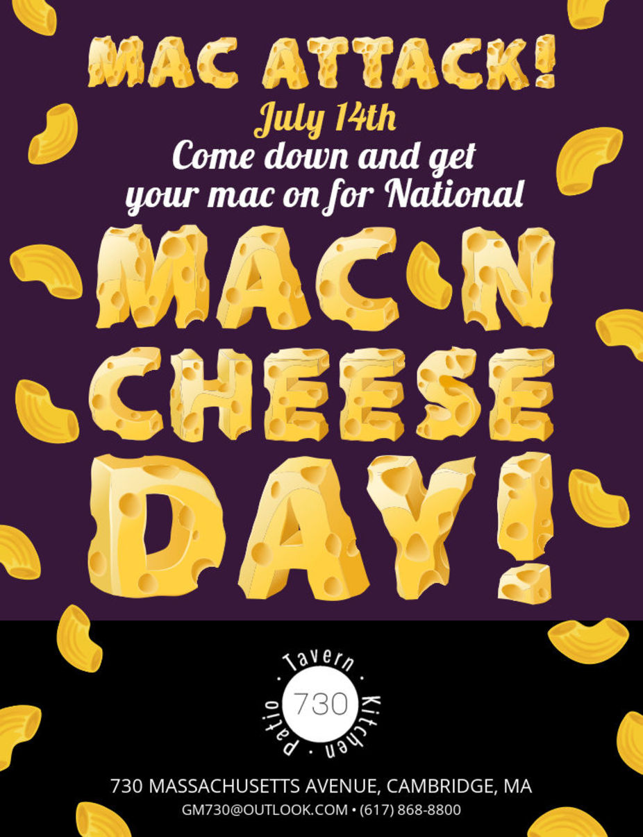 National Mac and Cheese Day event photo
