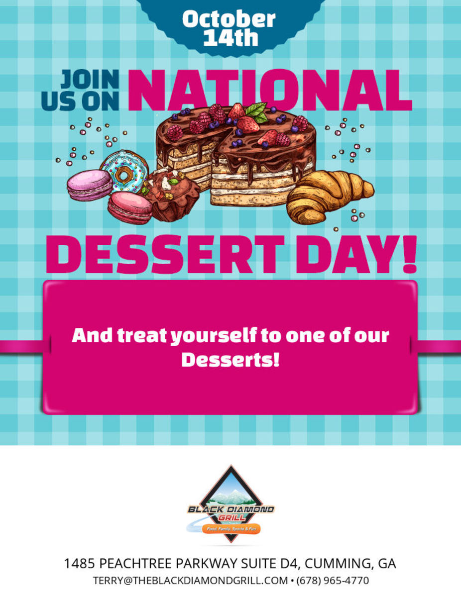 National Dessert Day event photo