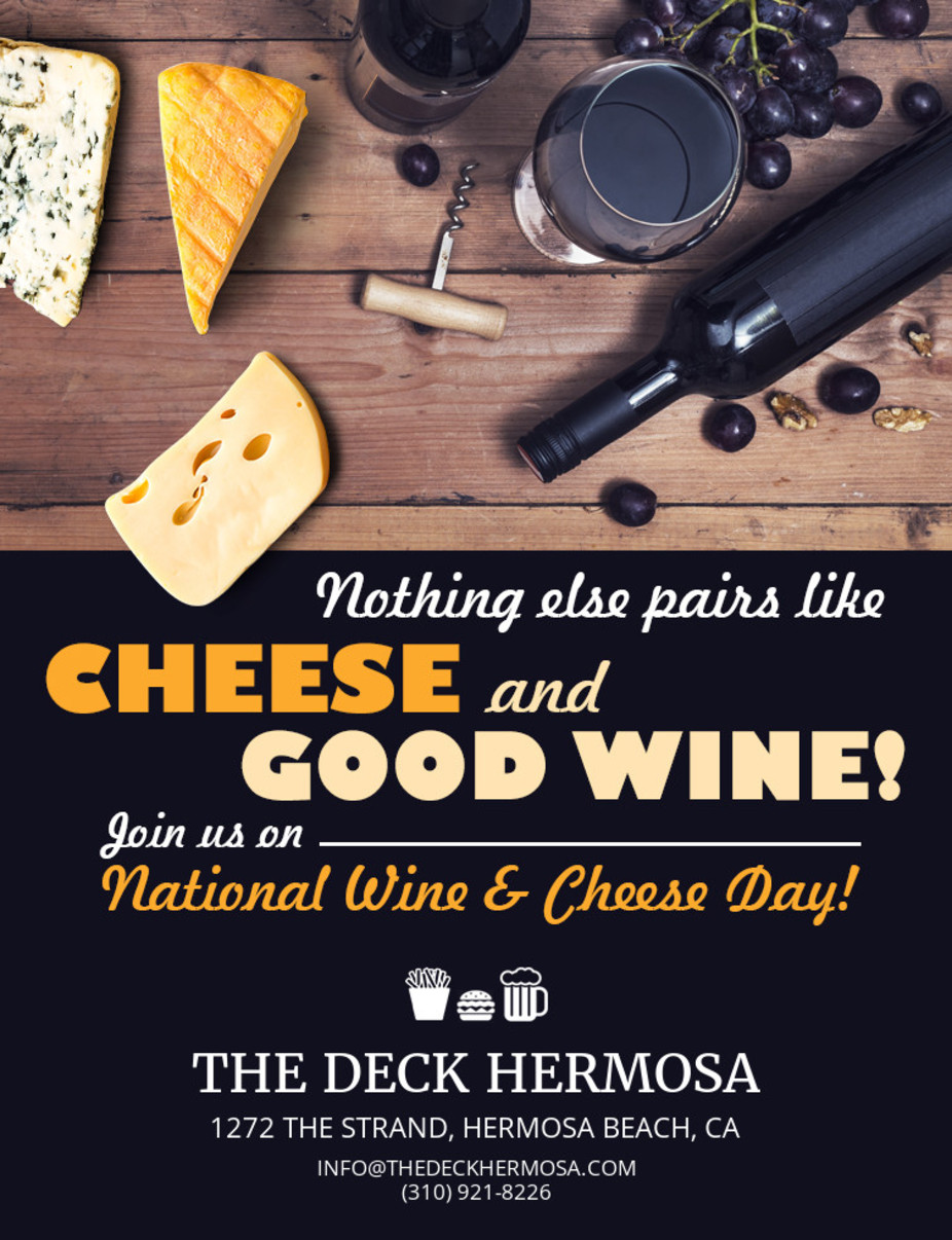 National Wine and Cheese Day event photo