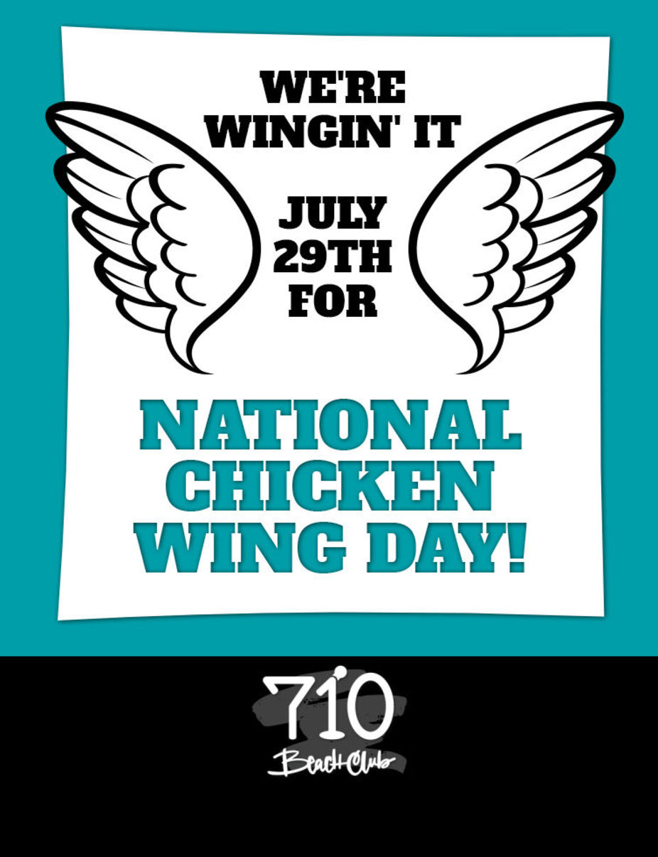 National Chicken Wing Day event photo