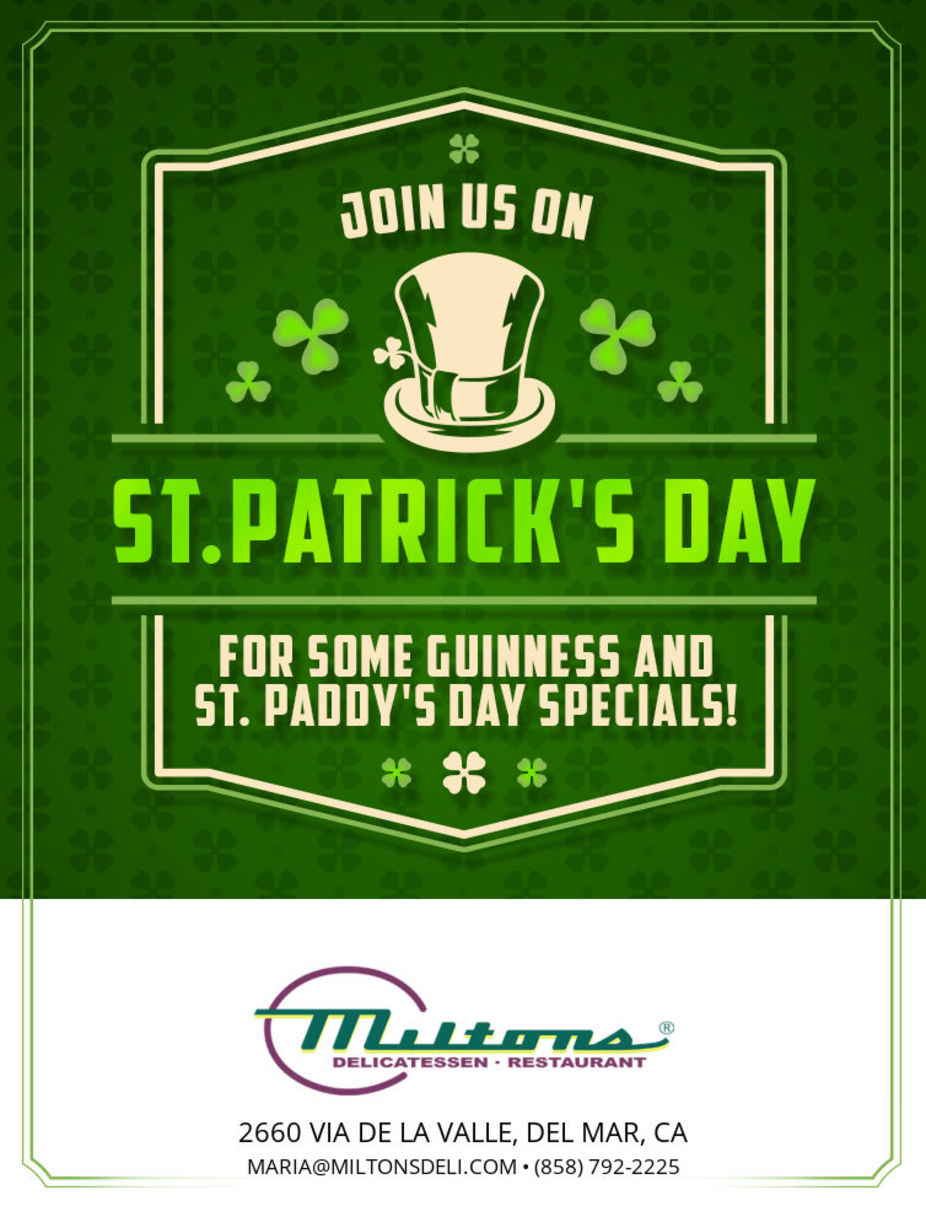 St. Patrick's Day event photo