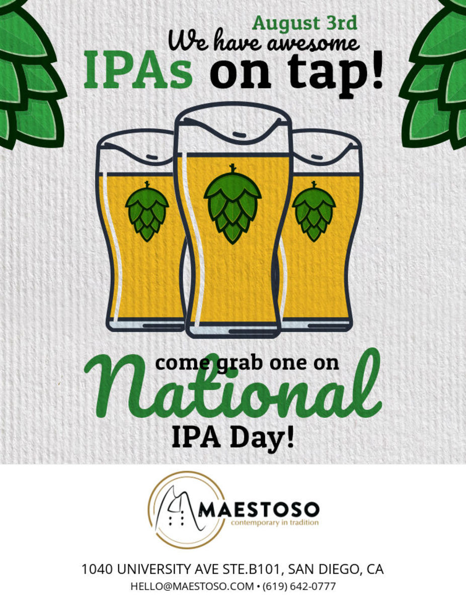 National IPA Day event photo