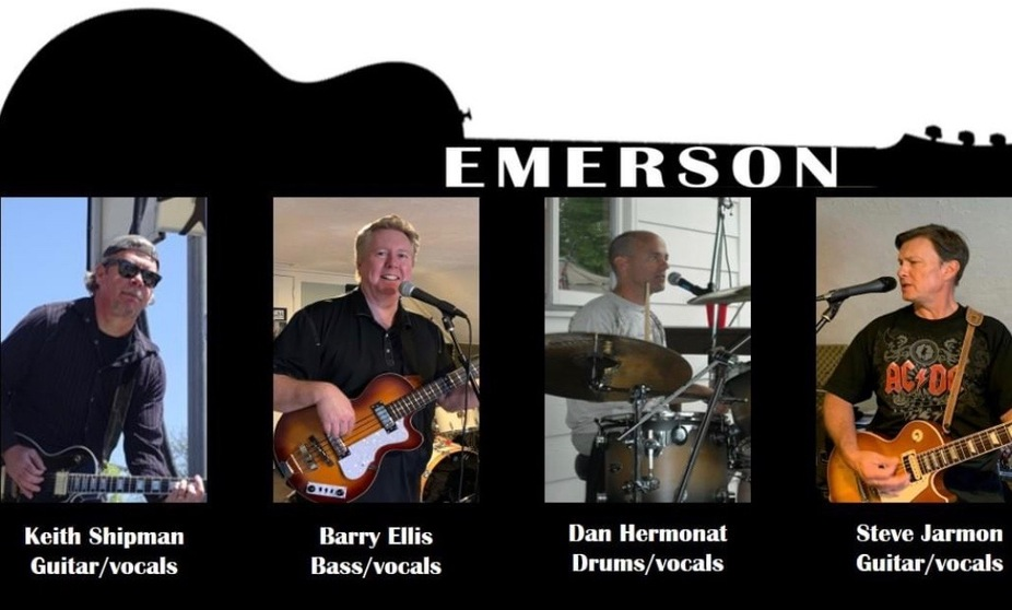 Emerson band event photo