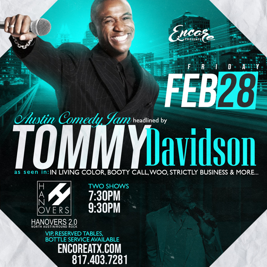 TOMMY DAVIDSON LIVE | 7PM-2AM event photo