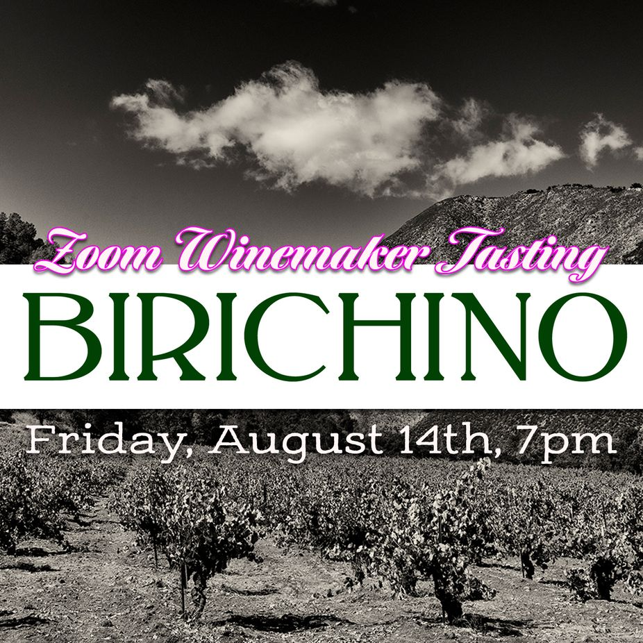 Birichino Winemaker Zoom Wine Tasting event photo