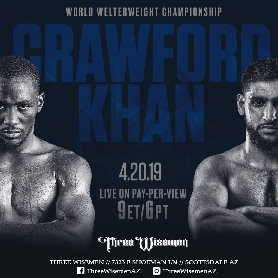 Crawford vs Khan event photo