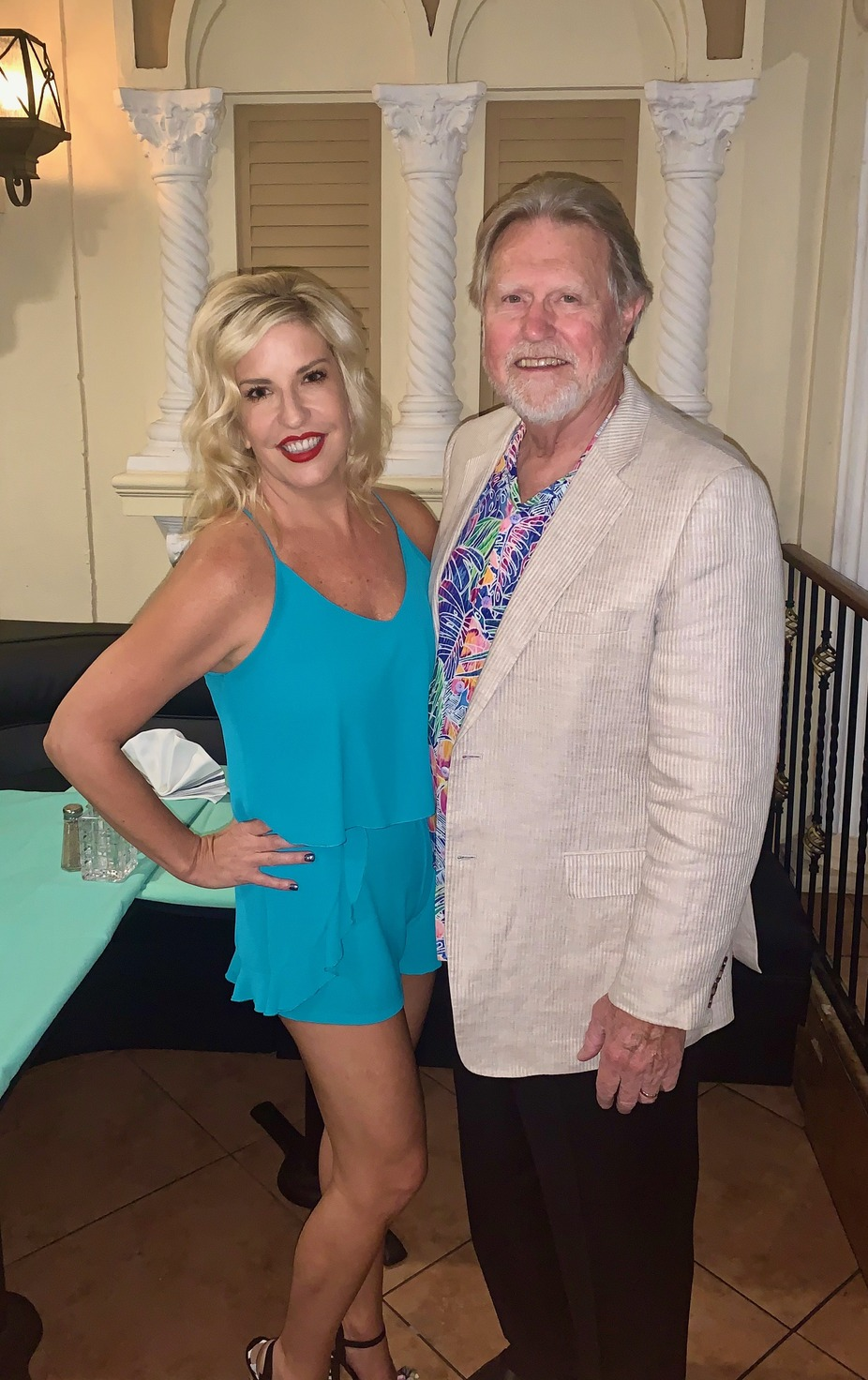 Lili Lewis and Jimmy Vann event photo