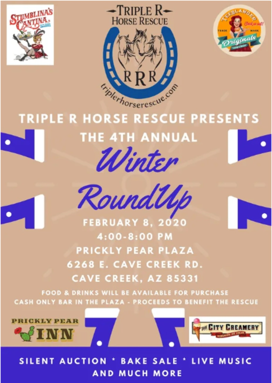 The 4th Annual Winter Roundup to benefit Triple R Horse Rescue event photo