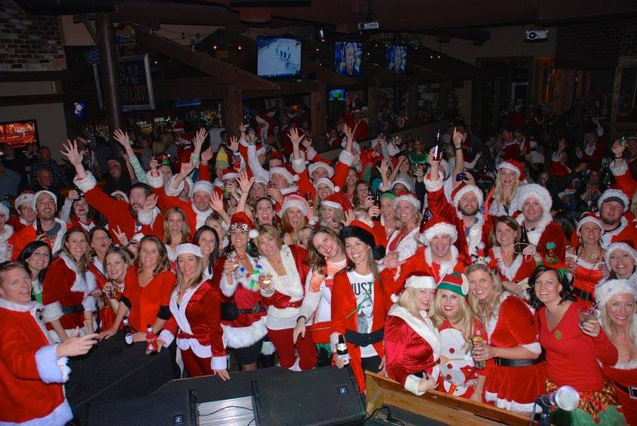 Santa Pub Crawl event photo