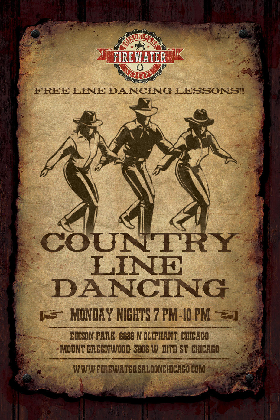 Monday Line Dancing event photo