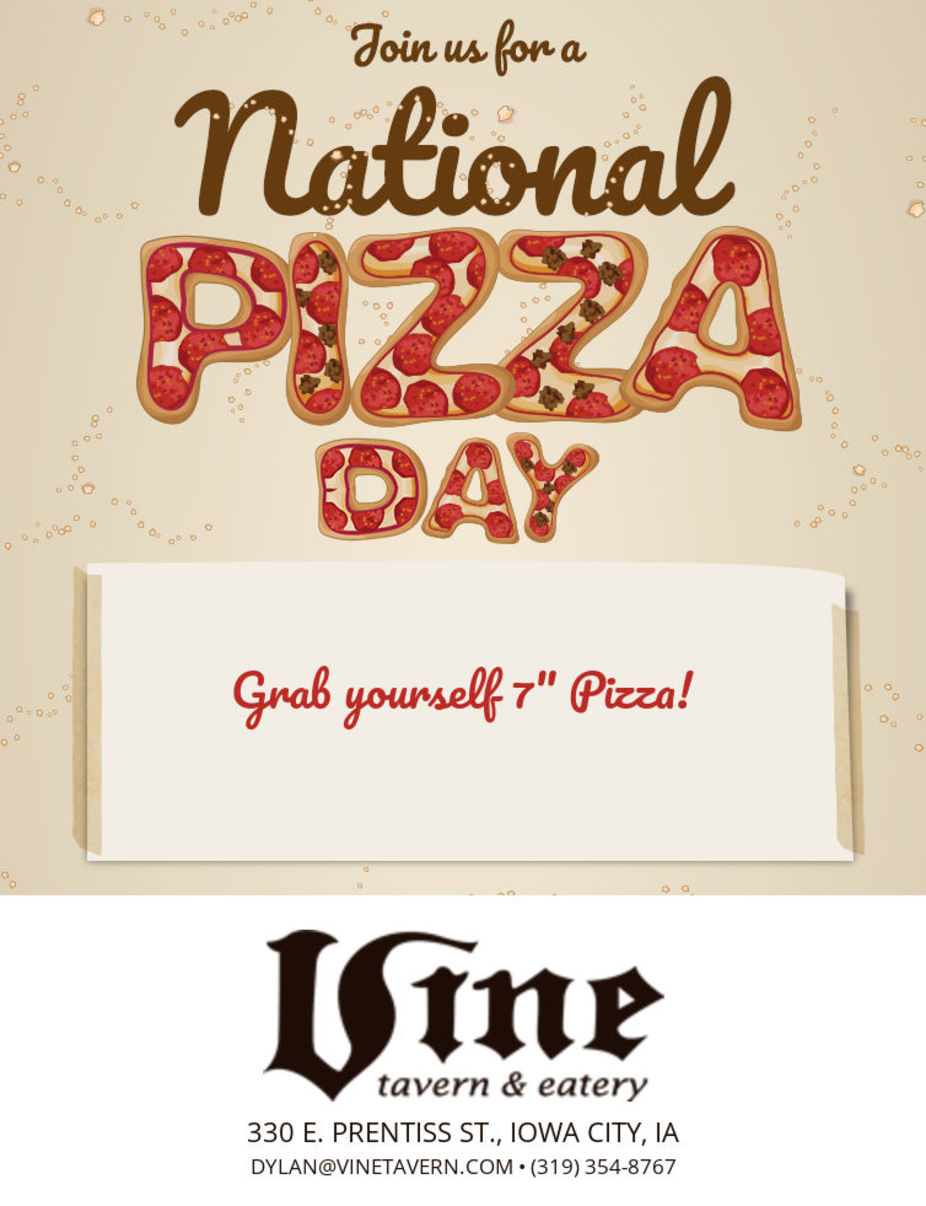 National Pizza Day event photo