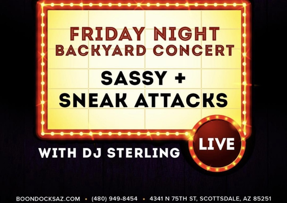 Live Music Friday's w/ Sassy & The Sneak Attack event photo