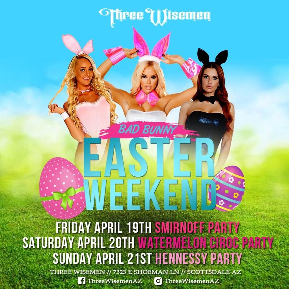 Bad Bunny Easter Weekend event photo