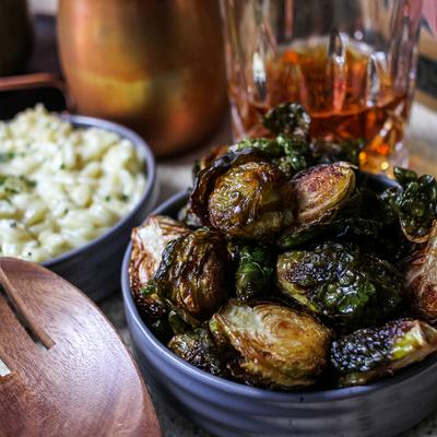 Crispy Brussels Sprouts photo