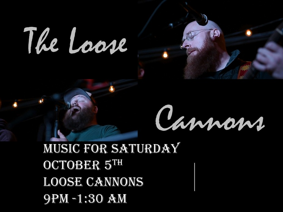 Music for October 5th - Loose Cannons event photo