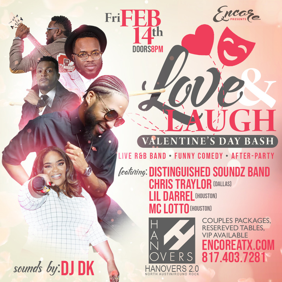 Love & Laugh VDay Bash event photo