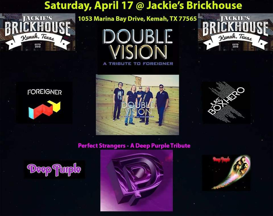 Double Vision - Foreigner & Deep Purple Tribute event photo