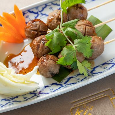 Grilled Thai Meatballs photo
