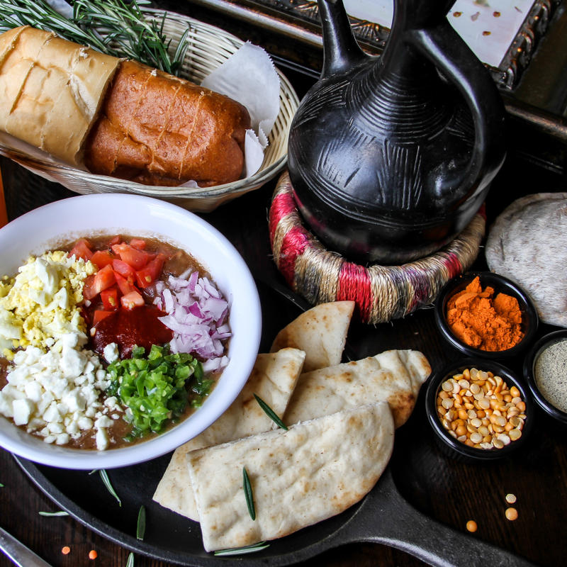 Desta Ethiopian Kitchen Food Menu