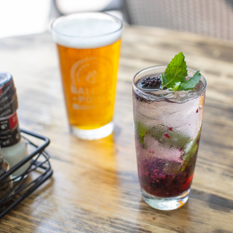 Craft Beer & Blackberry Mojito