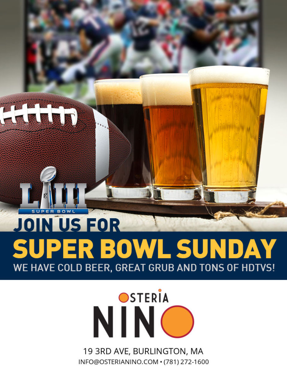 Join us for Super Bowl Sunday! event photo