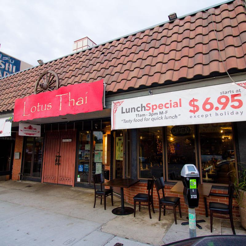 Lotus Thai Cuisine - Hillcrest - San Diego, CA