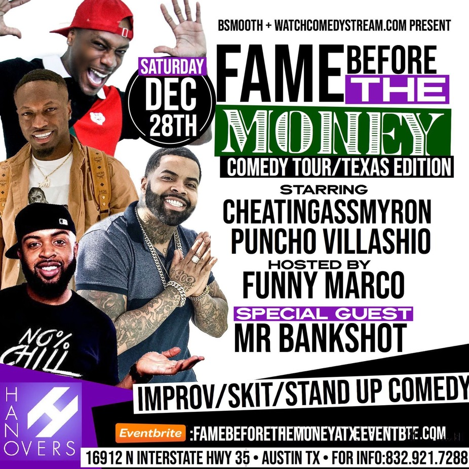 ATX Fame Before the Money Comedy Tour event photo
