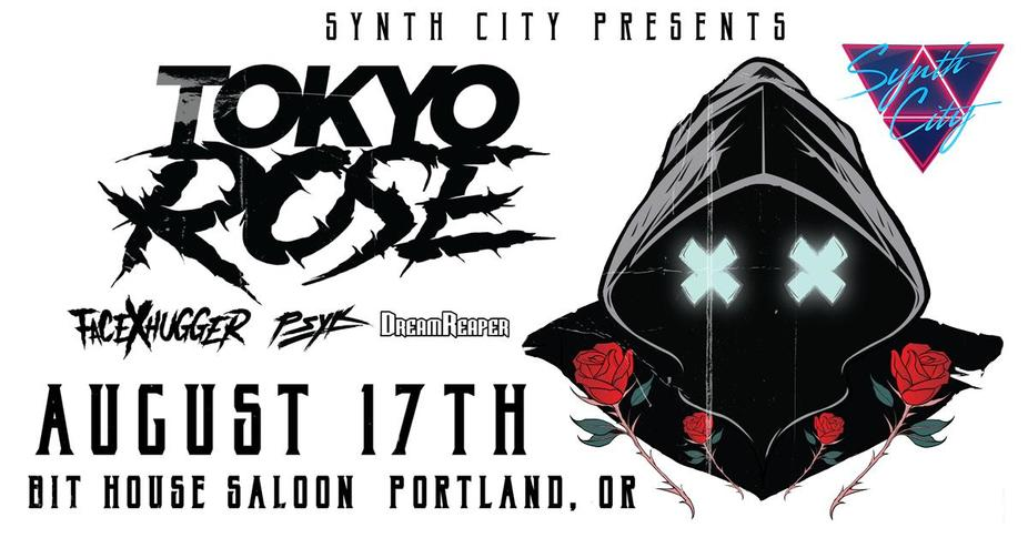 TOKYO ROSE: Presented by Synth City event photo