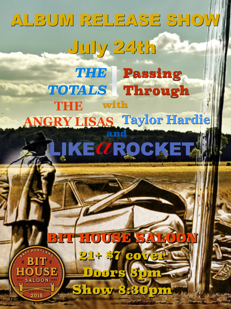 The Angry Lisas / The Totals / Like a Rocket / Taylor Hardie event photo