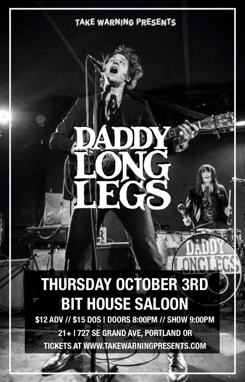 Daddy Long Legs at Bit House Saloon event photo