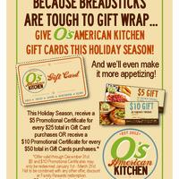 MV O's American Kitchen - SpotHopper