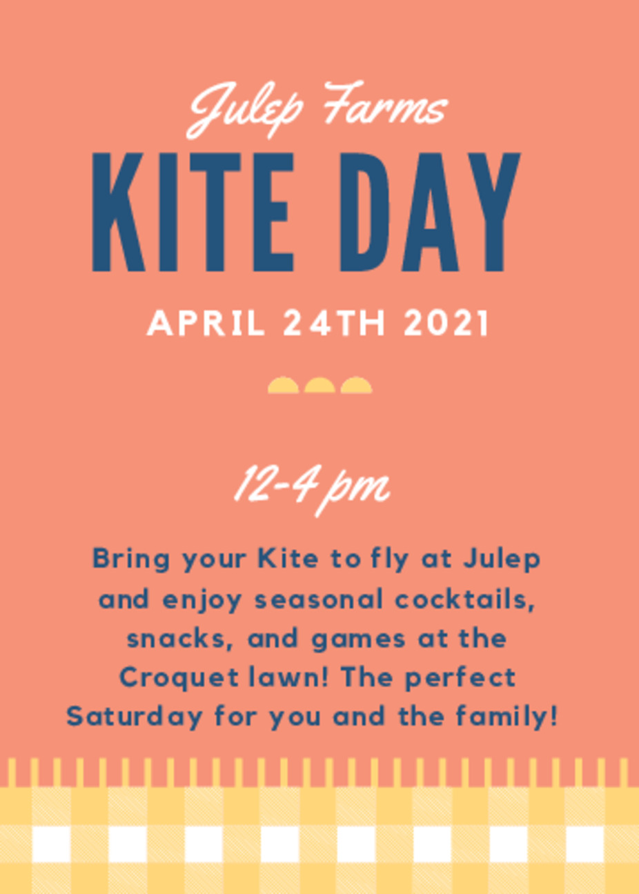 Kite Day at Julep Farms! event photo