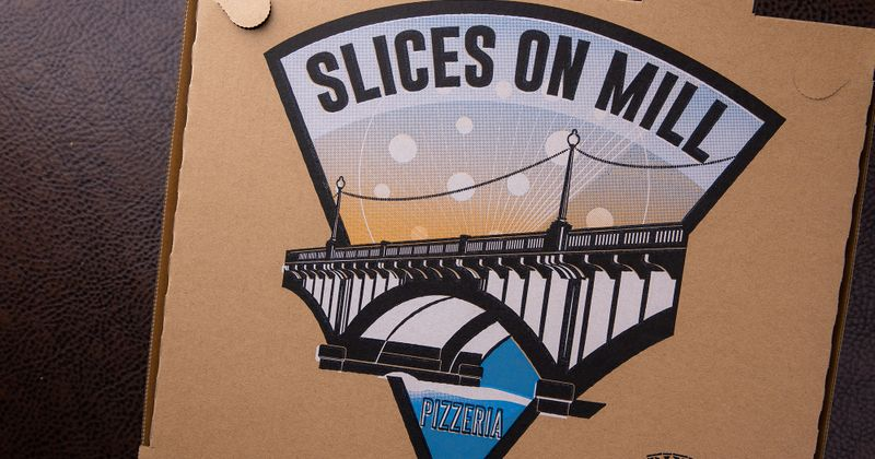 Slices on mill sign