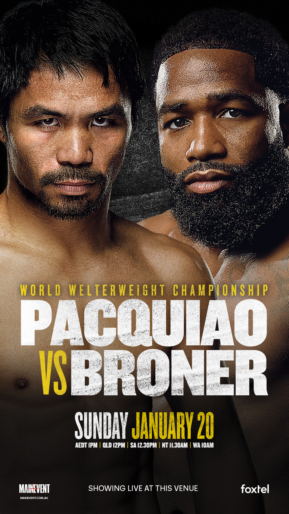PACQUIAO VS. BRONER event photo