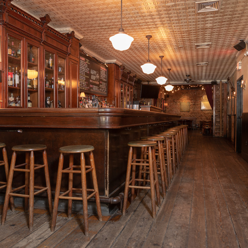 Bar and barstools