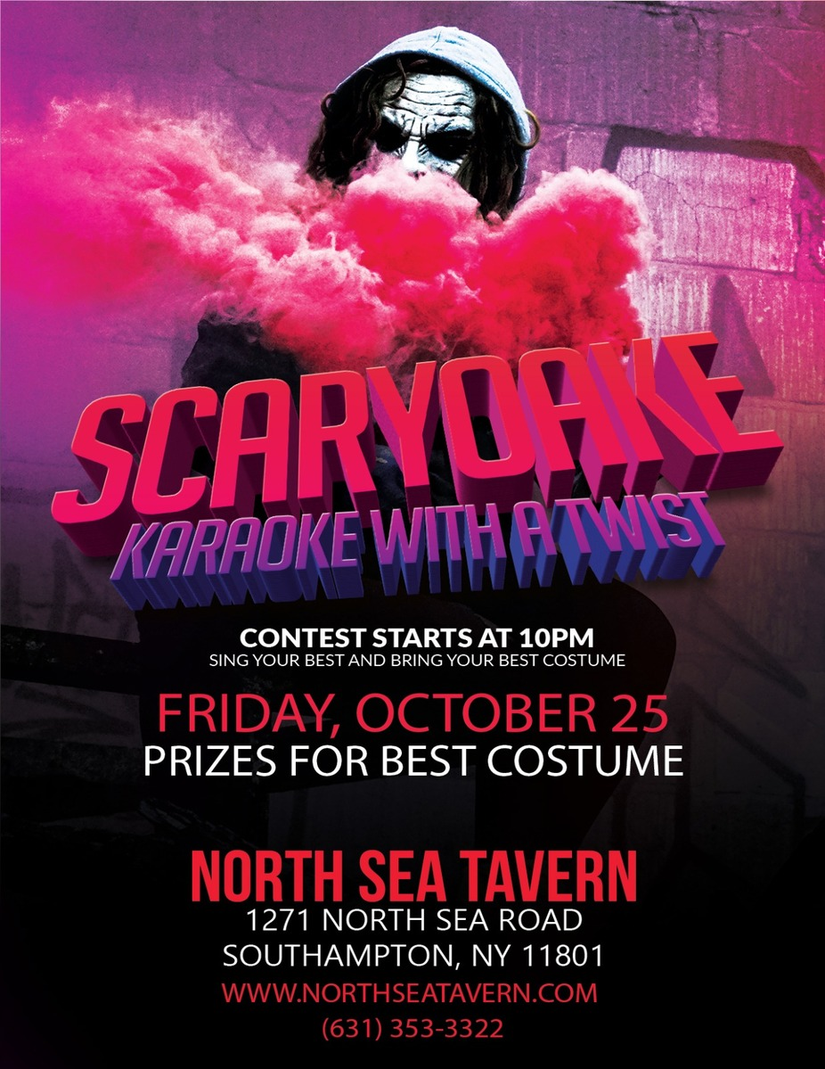 Scaryoake - Karaoke Contest! event photo