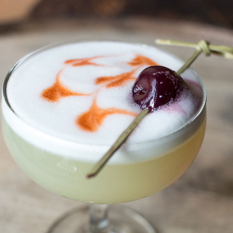 Classic Egg-White Whiskey Sour