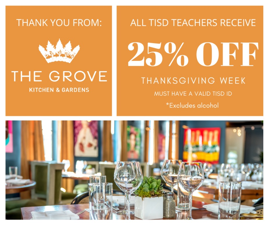 TISD Thanksgiving Discount event photo