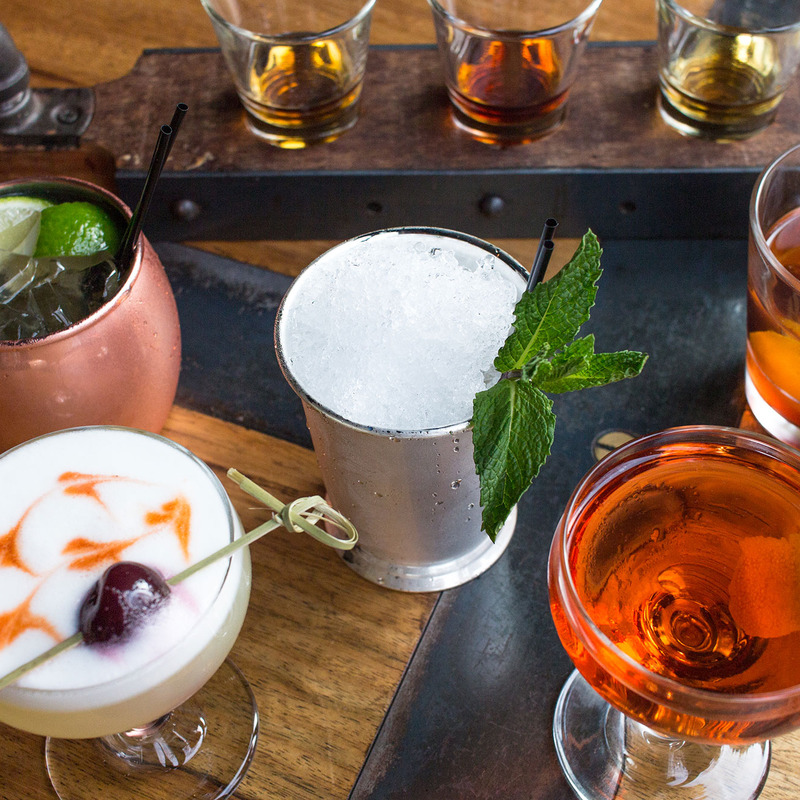 Variety of house-made cocktails