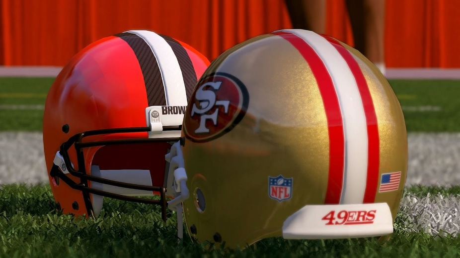 BROWNS @ 49ERS event photo