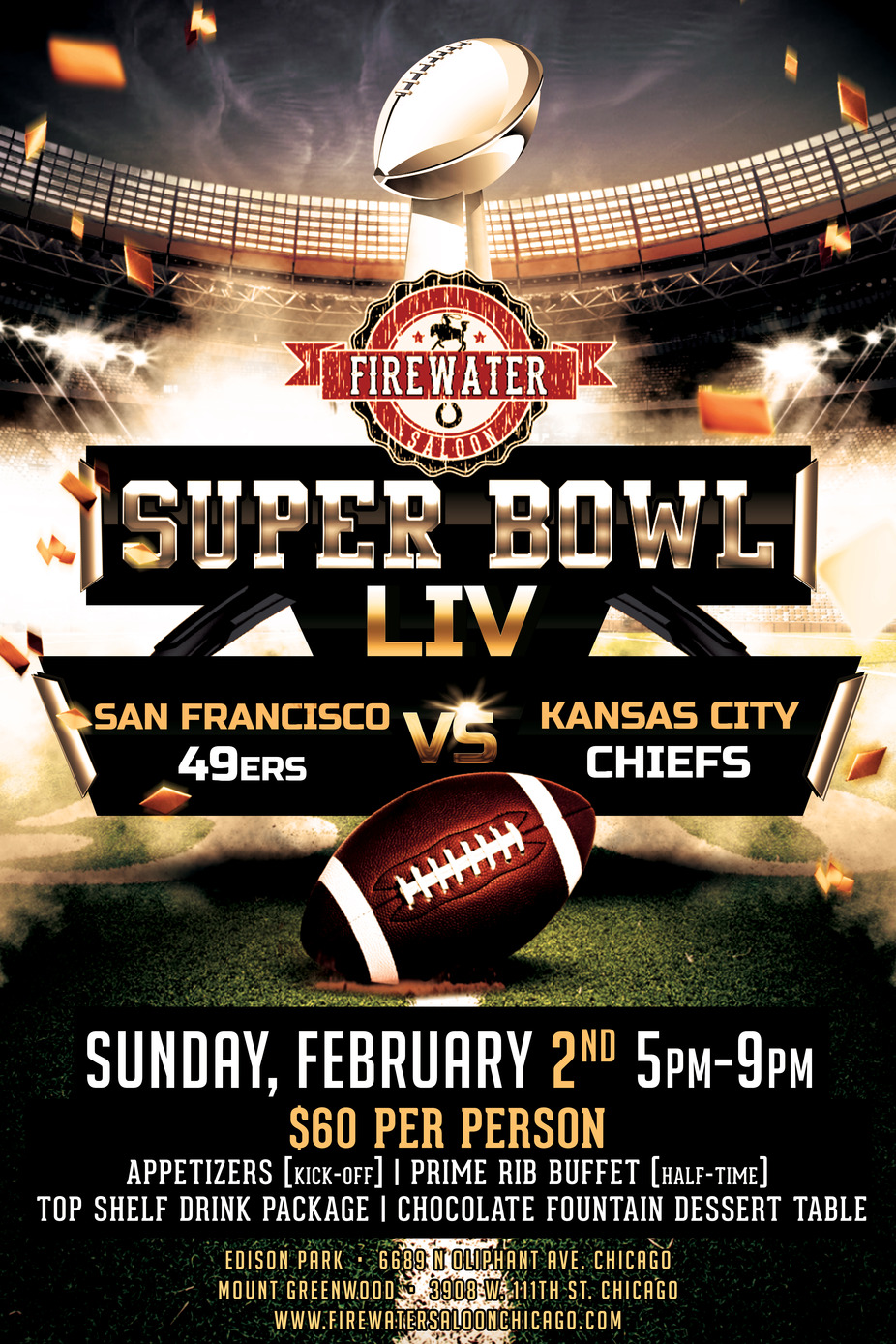 Super Bowl Party event photo